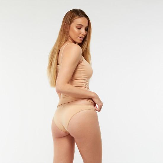Egyszínű női alsó (testszínű)