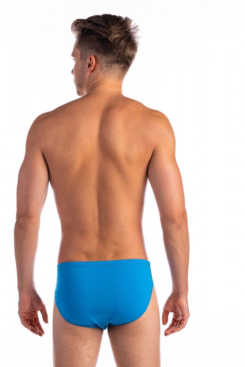 Egyszínű férfi alsó (türkizkék)