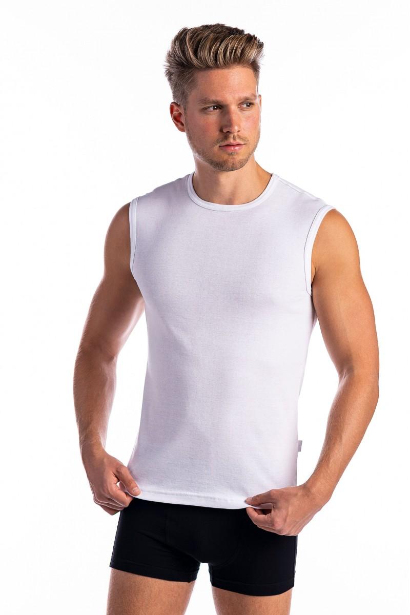 Széles vállú férfi atléta (fehér)