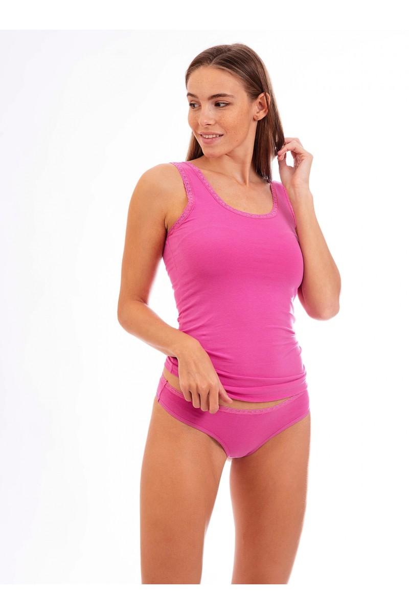 Egyszínű női tanga (pink)