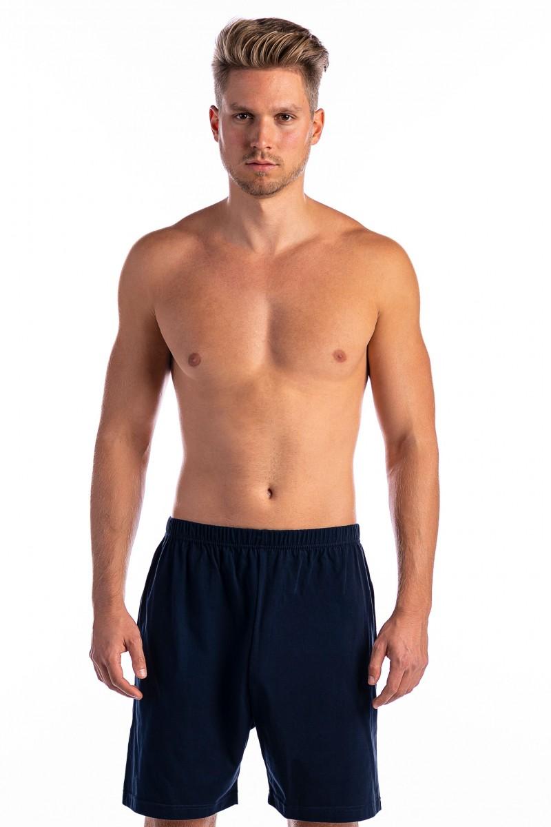 3-6 XL Rövid pizsama alsó (sötétkék)