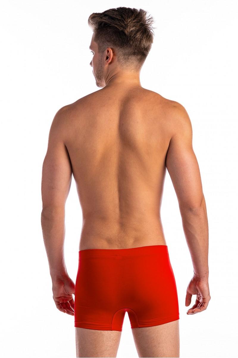 Egyszínű szűk boxer (piros)